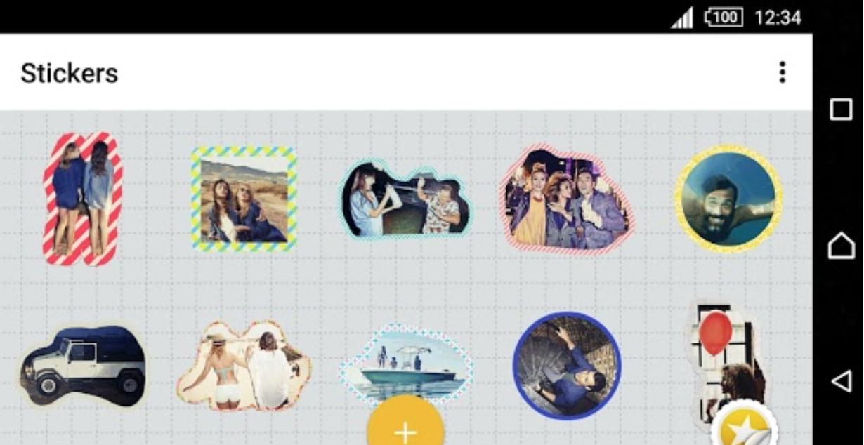 Sony Xperia X Sticker Creator App