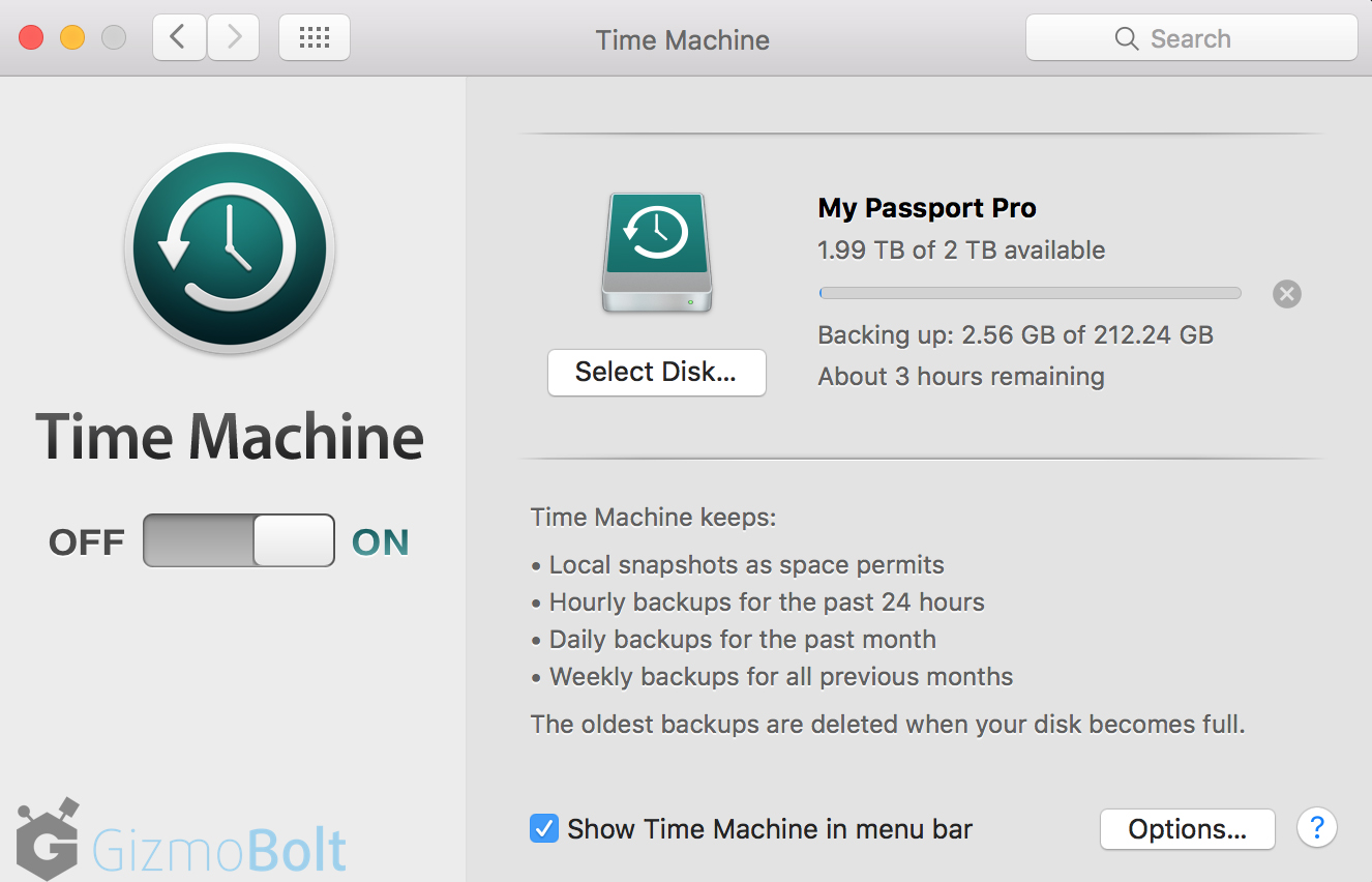 MacBook Time Machine Usage via WD Pro RAID Storage