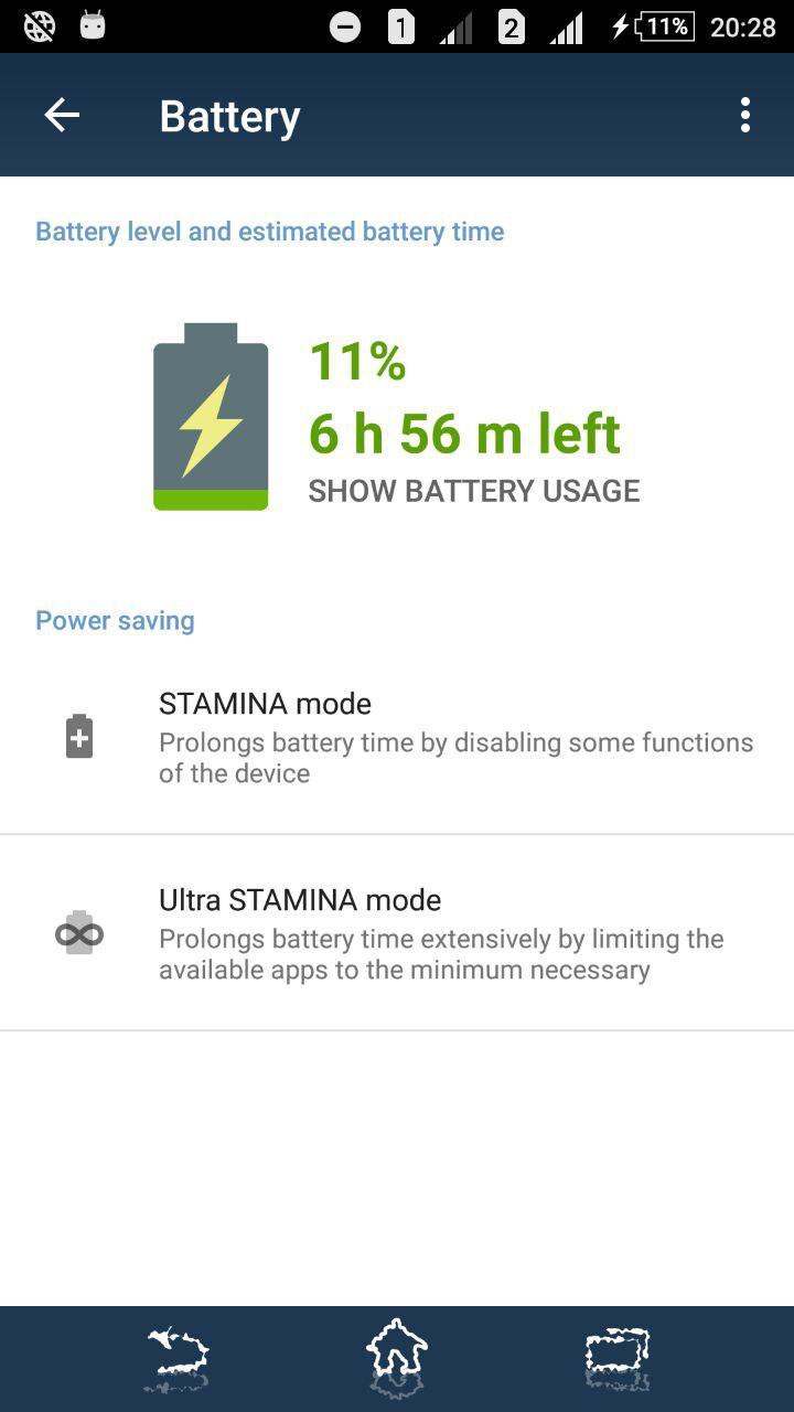 Xperia Z3+ 32.2.A.0.224 STAMINA MODE