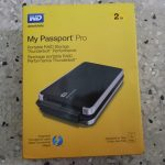 wWestern Digital My Passport Pro Unboxing