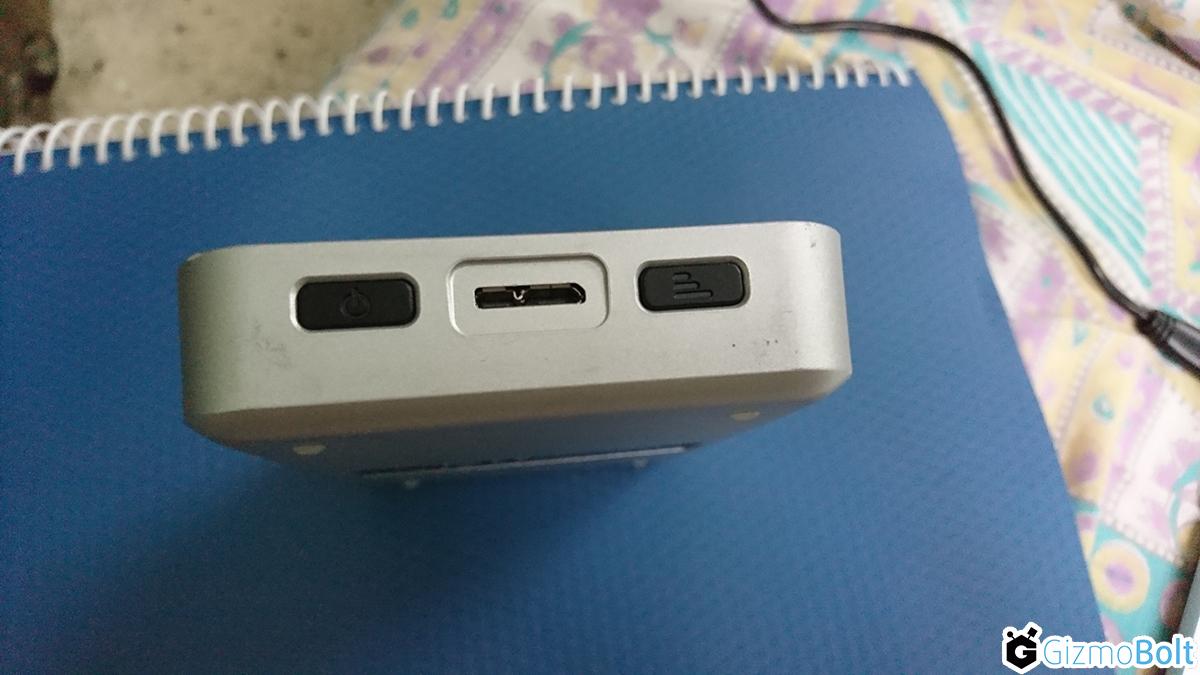 My Passport Wireless Wi-Fi Mobile Storage Power Button