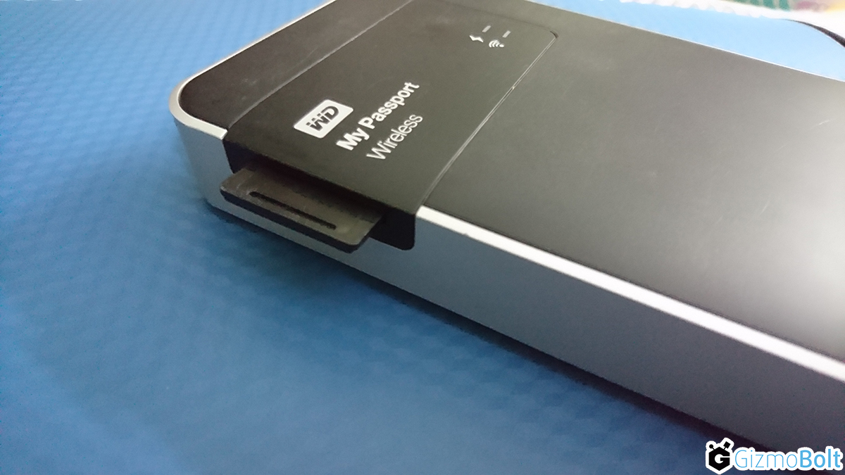 My Passport Wireless Wi-Fi Mobile Storage - SD Card Slot