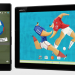 Sony launches Xperia Football Theme with Football Analog Clock on Lockscreen