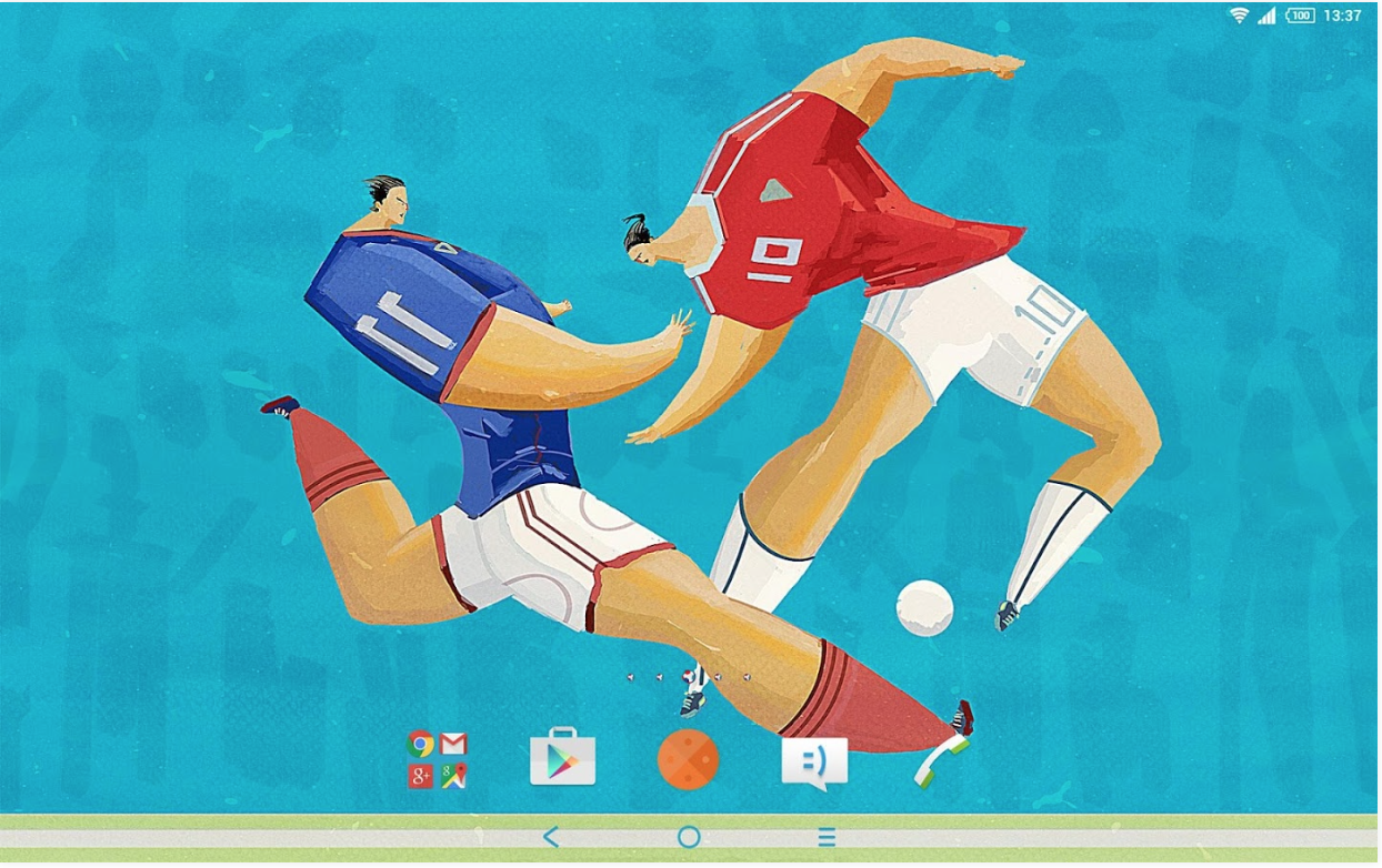 Download Xperia Football Theme