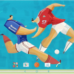 Sony Xperia Euro Cup Theme