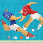 Sony Xperia Euro Cup Theme