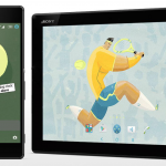 Sony launches Xperia Tennis Theme with Lockscreen analog clock