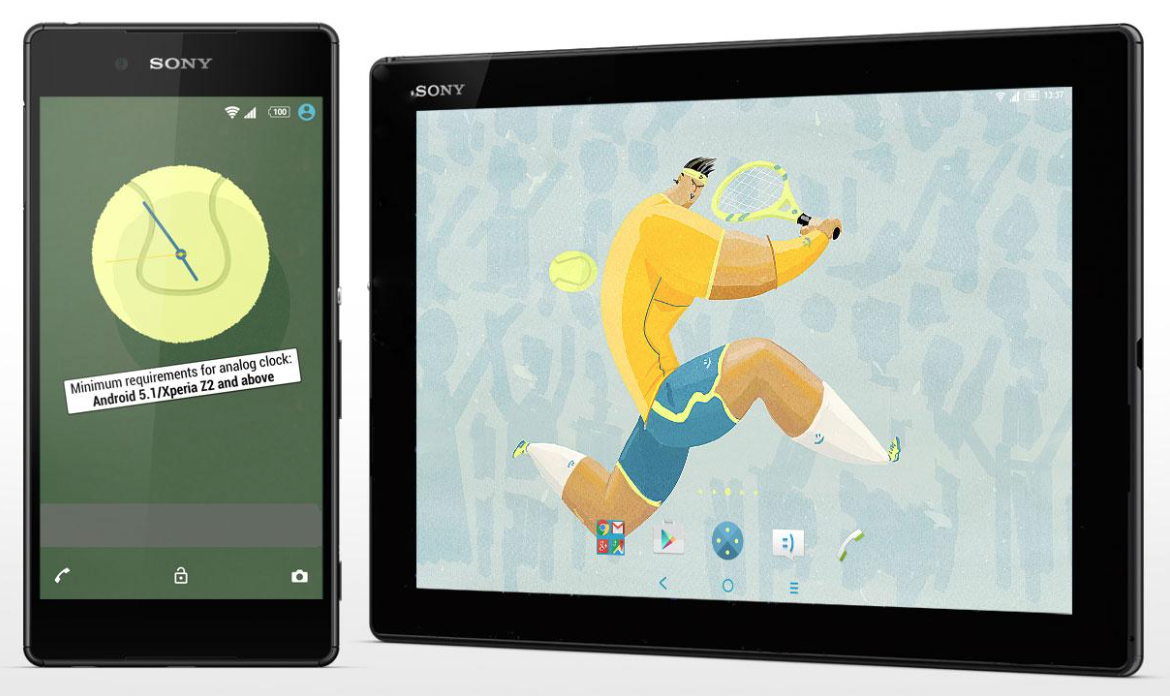 Xperia Tennis Theme