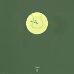 Xperia Tennis Theme with Analog Lockscreen Clock