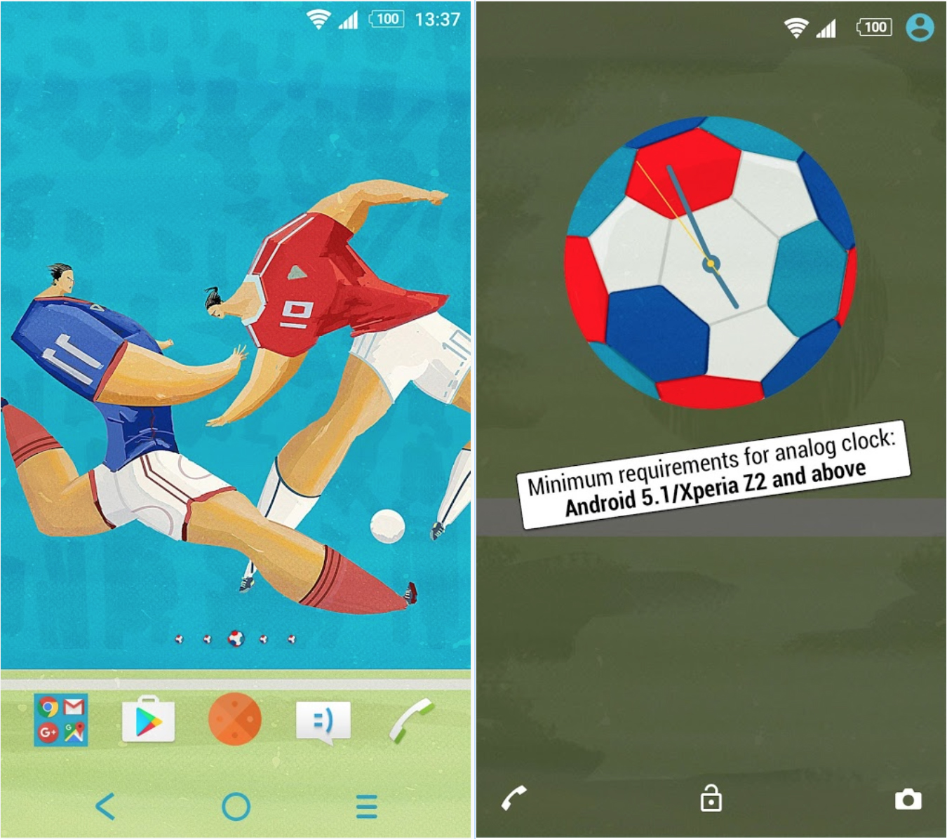 Xperia Football Theme