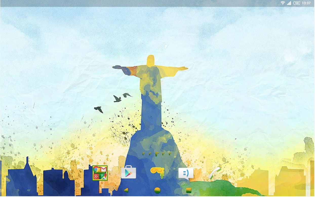 Xperia Cityscape Rio Theme apk