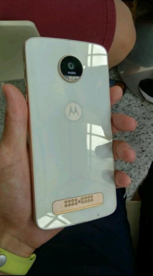 Moto Z Play Glass Rear Panel