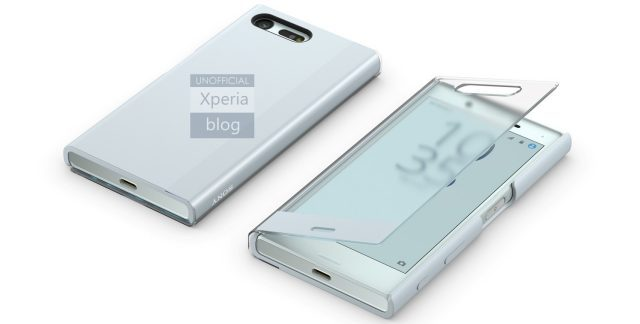 Sony Xperia X Compact Flip Cover Leaked Pic