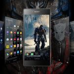 Xperia Transformers Last Knight Theme for non-rooted device