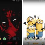 Download Sony Xperia Deadpool & Xperia Minions Theme