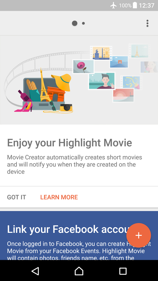 Sony Movie Creator 4 7 B 0 6 app update allows you to Choose