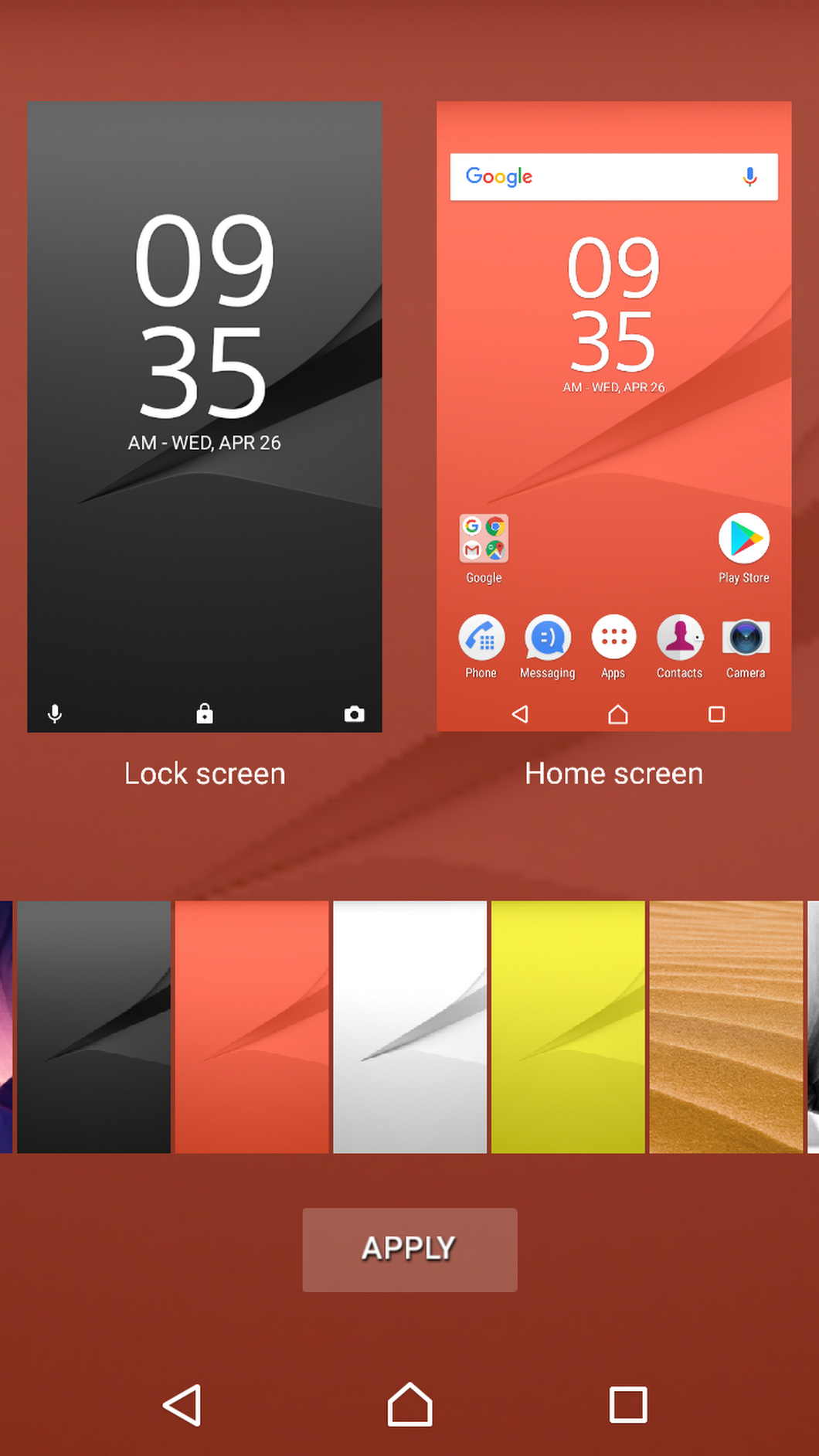Xperia home beta 10 2 a 3 0 app update brings wallpaper for Wallpaper xperia home