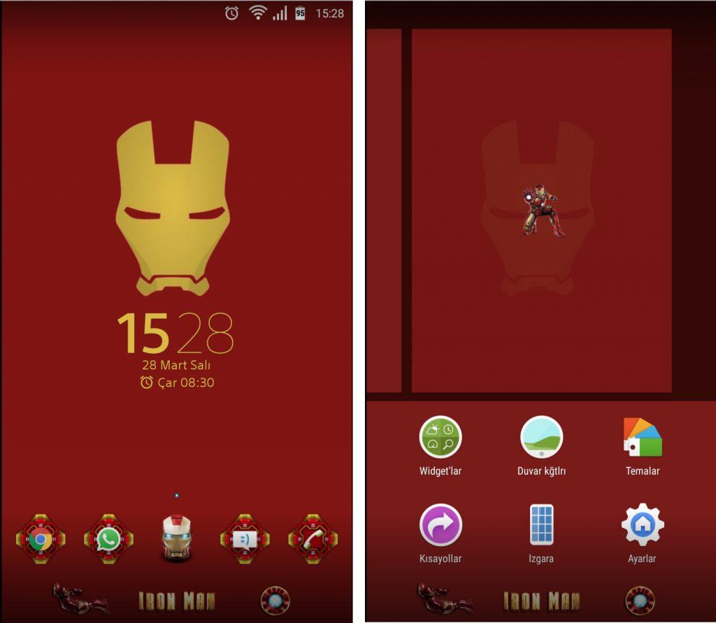Download ironman theme