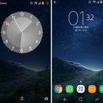 Install Galaxy S8 Xperia Theme with S8 Style navigations keys