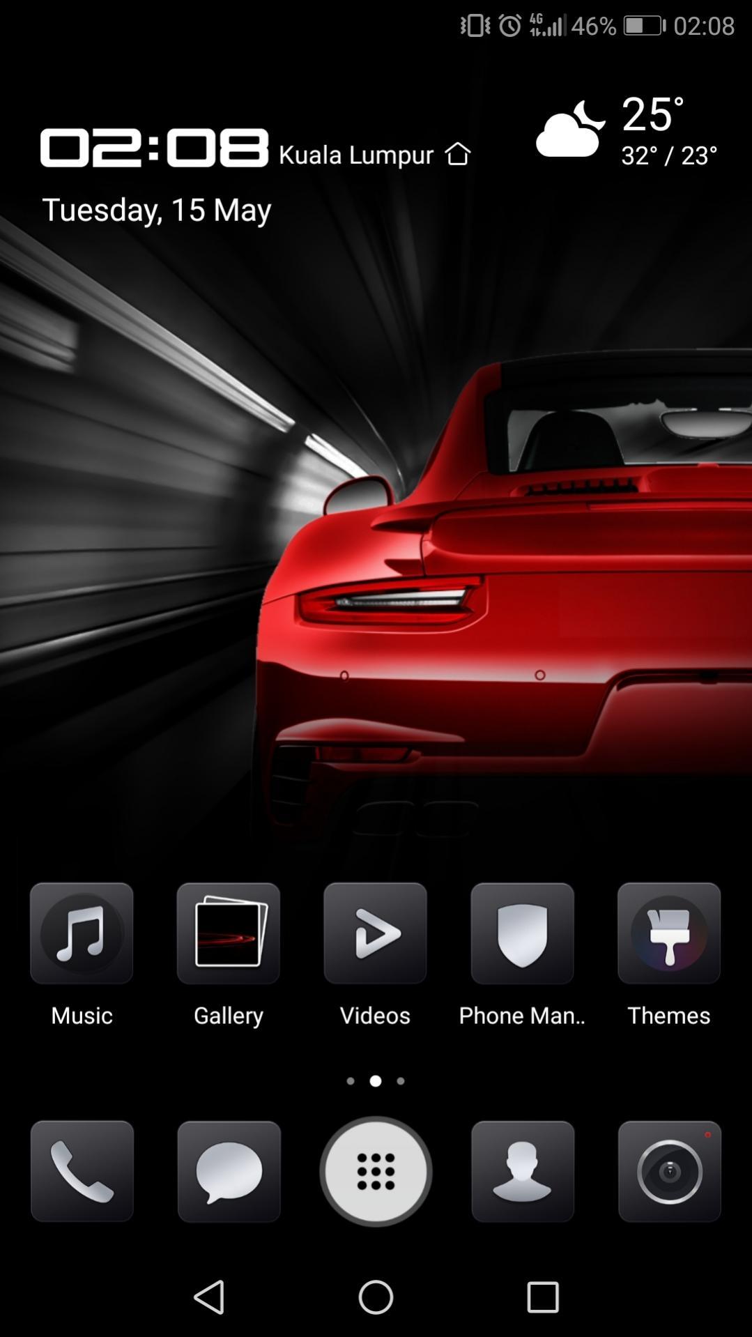Install Porsche Theme on Huawei P20 Pro