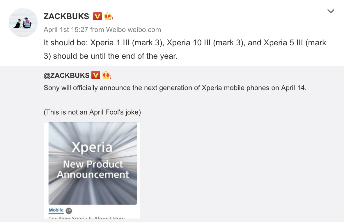 Xperia 5 III Launch Date - End of 2021 Year