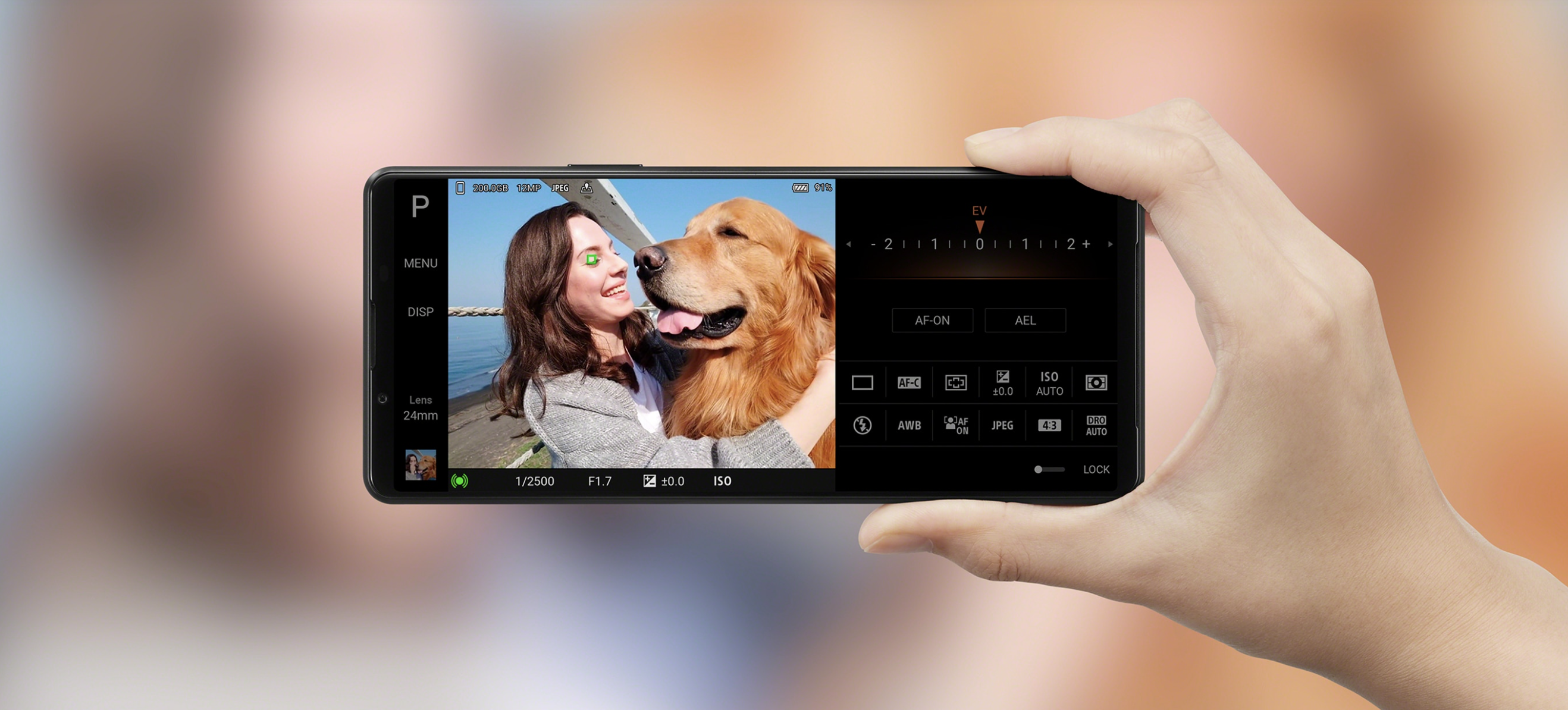 Xperia 1 III Camera App Manual Mode Control