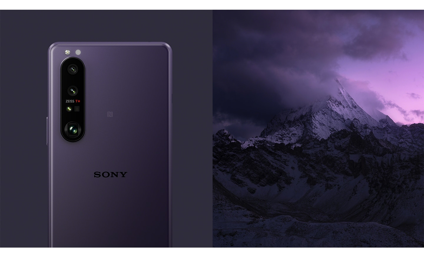 Xperia 1 III Frosted Purple