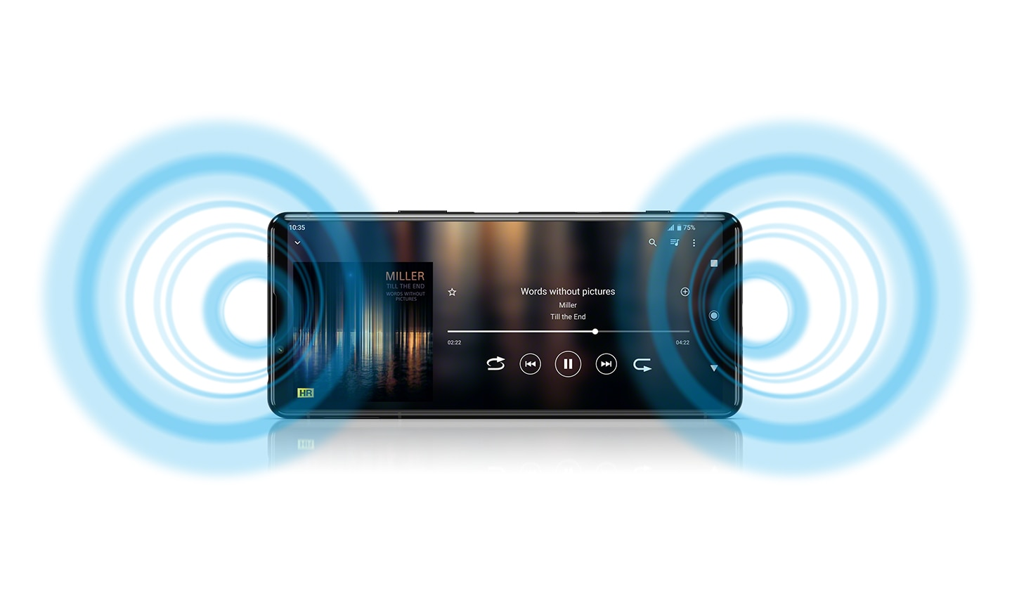 Xperia 5 III Full-Stage stereo speakers