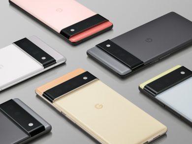 Google Pixel 6 Official Photo