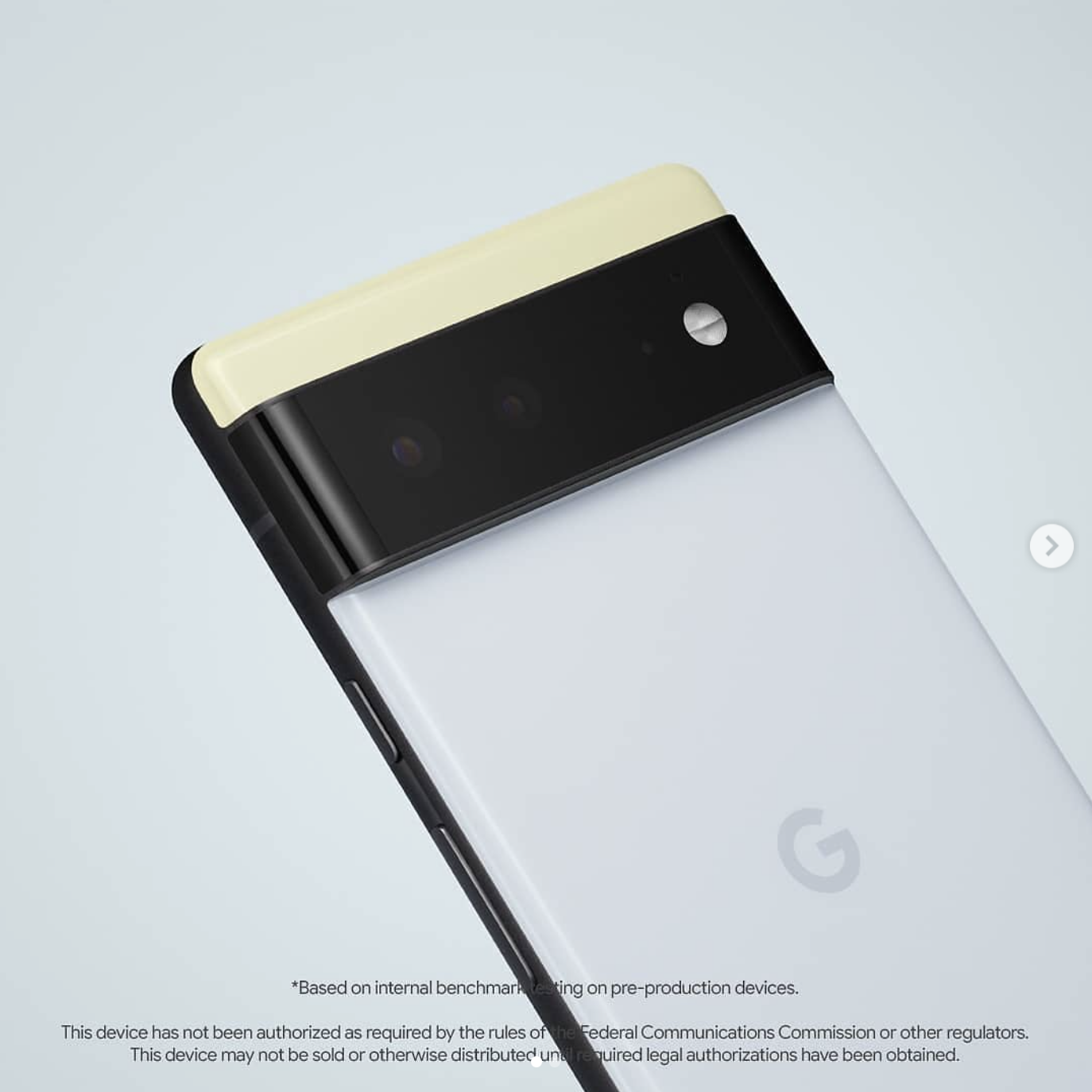 Google Pixel 6 Official Pic